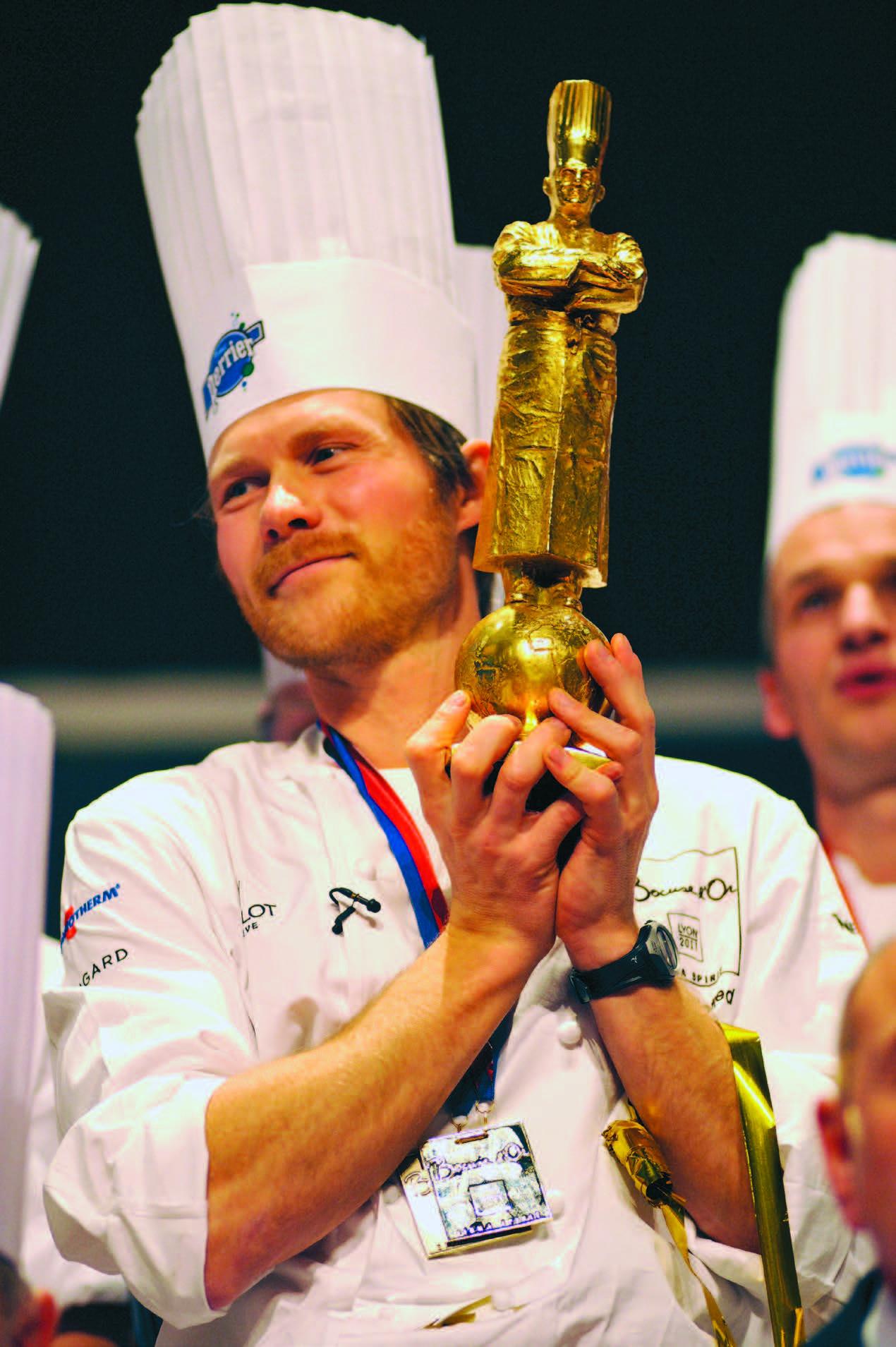 """2011 metų """"Bocuse d'Or"""" nugalėtojas – Rasmusas Kofoedas iš Danijos"""