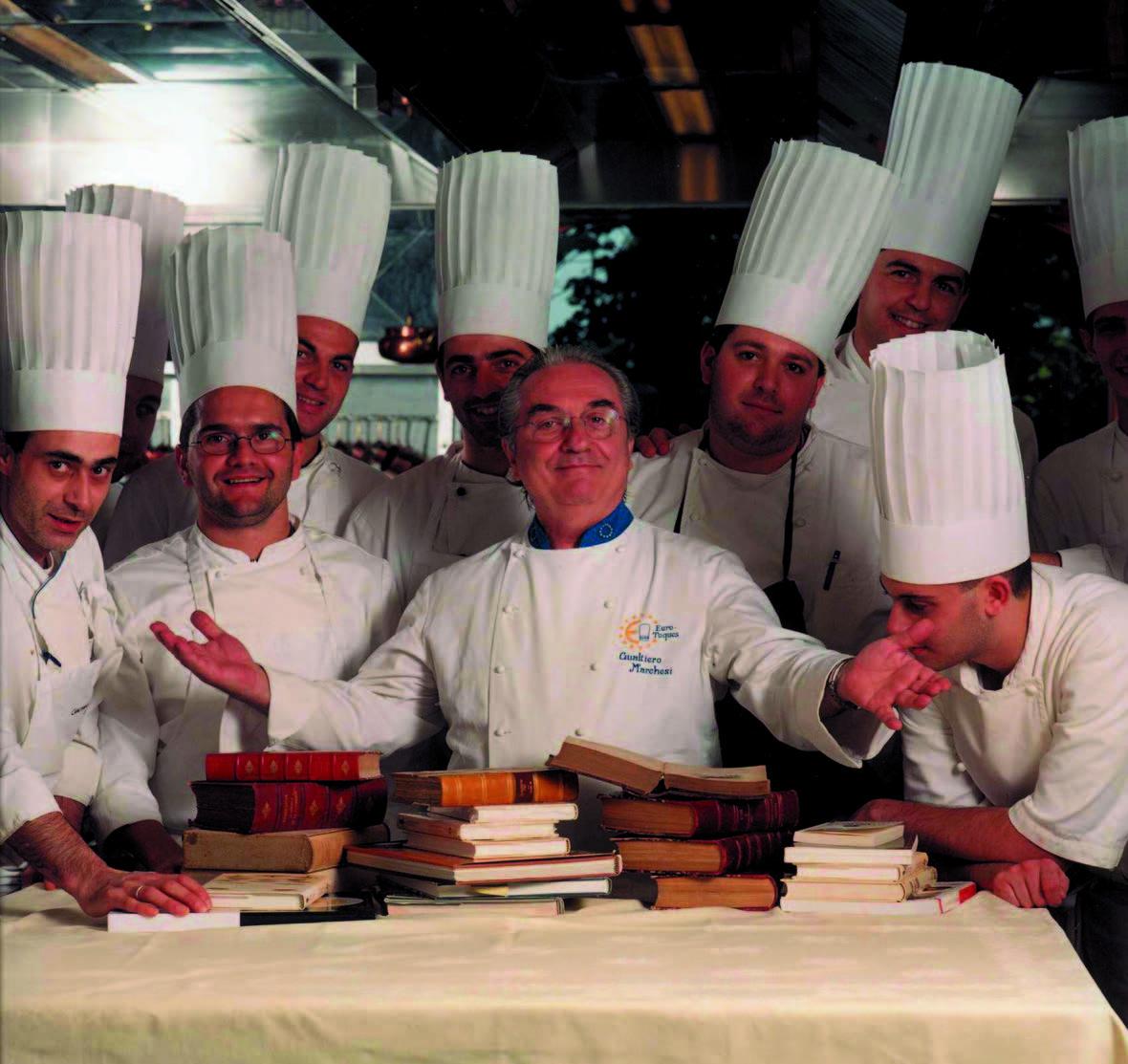 Kulinarijos guru Gualatiero Marchesi