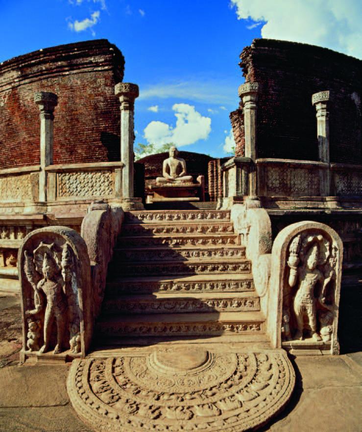 Šventyklos griuvėsiai Polonaruvoje