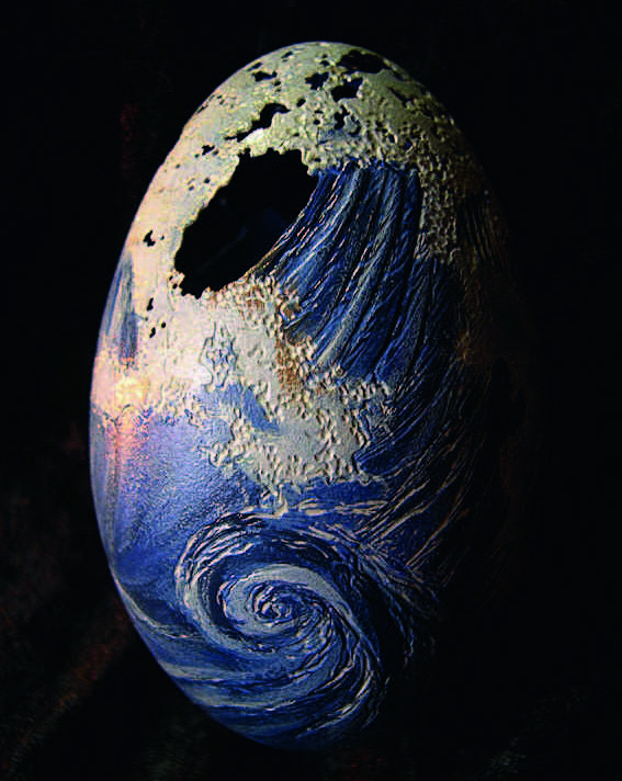 Kiaušinių lukštų raižiniai
