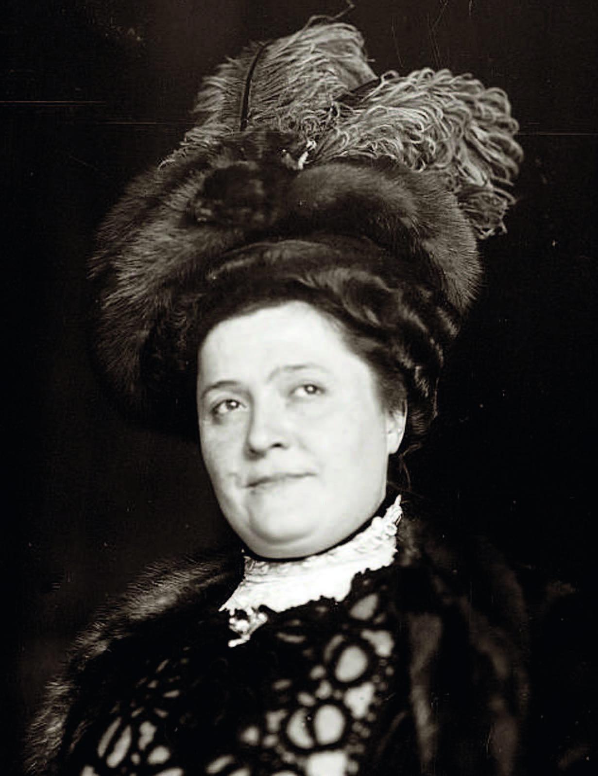 """Louise Tetradzini, kuriai buvo sukurta suflė """"Tetradzini"""""""
