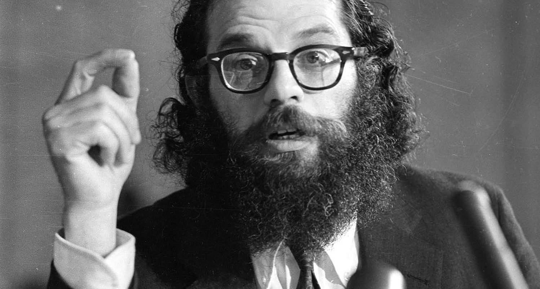 """Allenas Ginsbergas – vienas įžymiausių ir produktyviausių bitnikų kartos poetų ir lyderių, """"Beat"""" viešbutyje sukūrė keletą žymių darbų"""