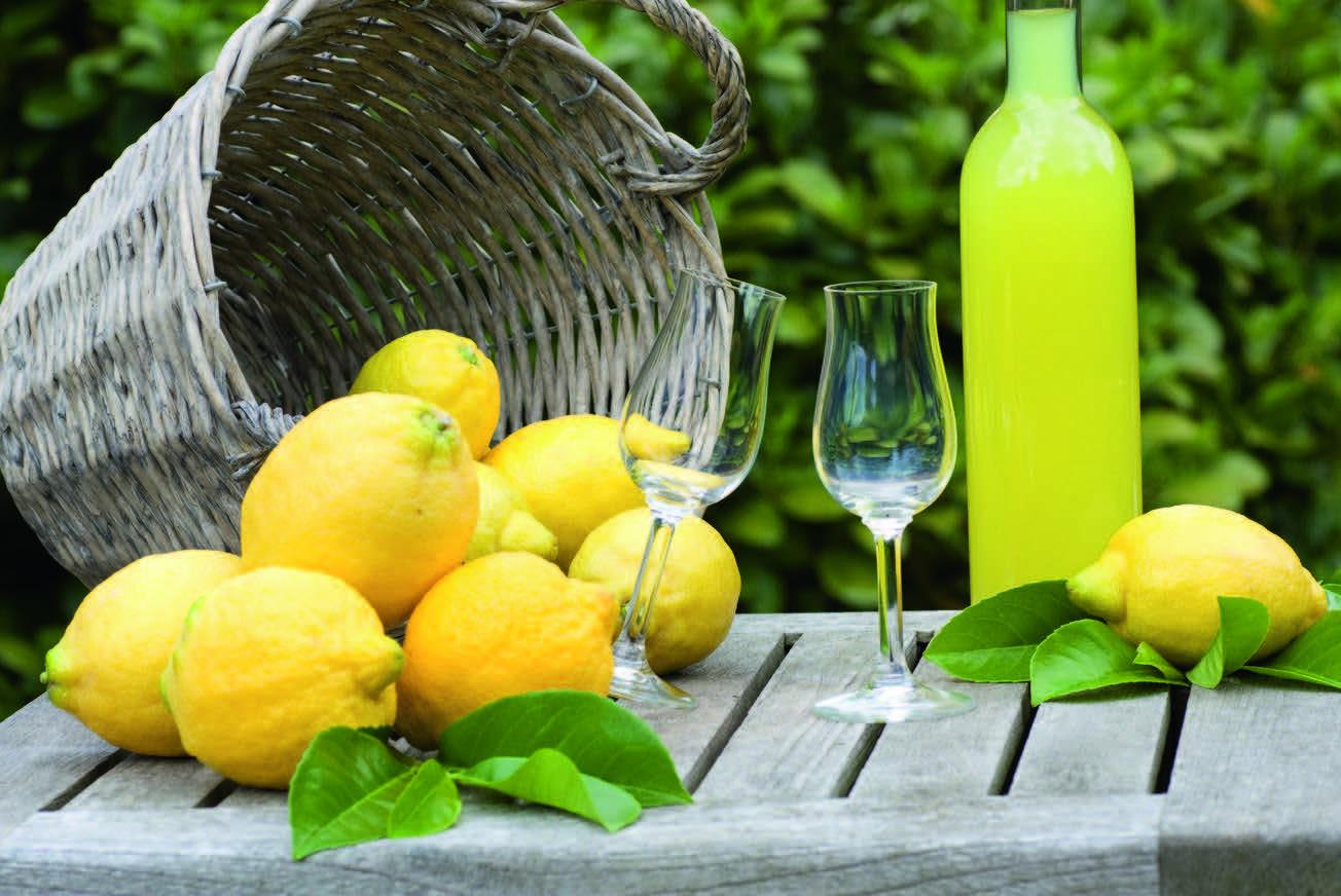 Nepamirškite paragauti citrinų likerio Limoncello