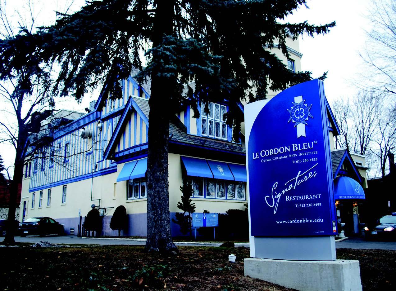 "Restoranas ""Le Cordon Bleu Bistro @ Signatures"" (Andrés Cedillo nuotr.)"