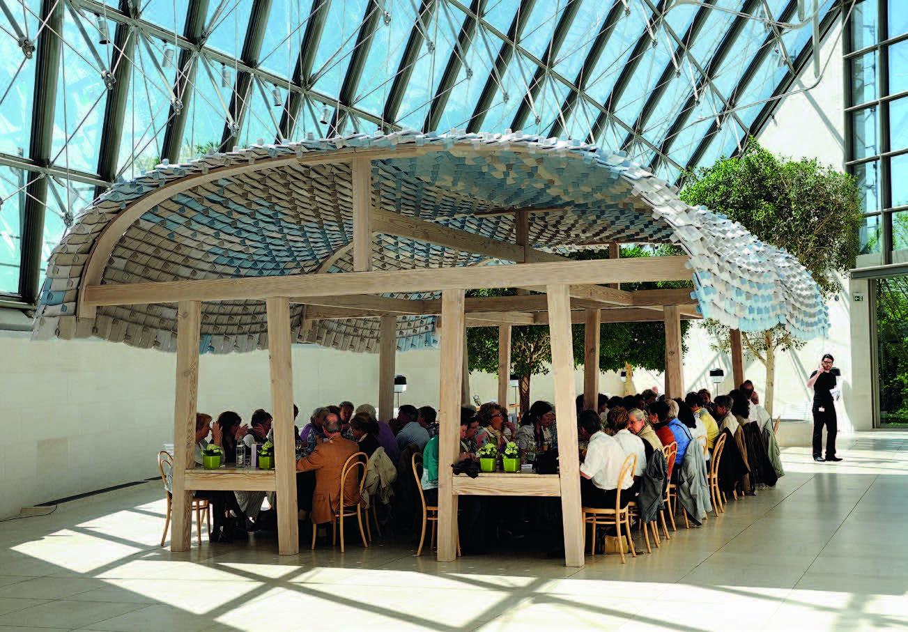 """Restoranas """"Mudame"""" Liuksemburgo šiuolaikinio meno muziejuje"""