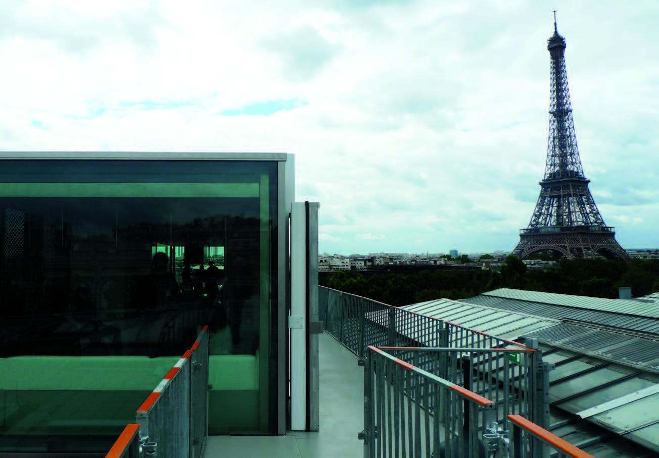 "Restoranas ""Nomiya"" ant ""Le Palais de Tokyo"" stogo Paryžiuje"