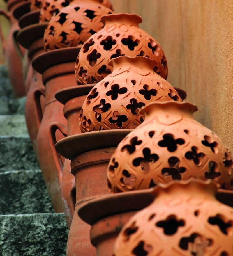 Rudoji keramika Taorminoje