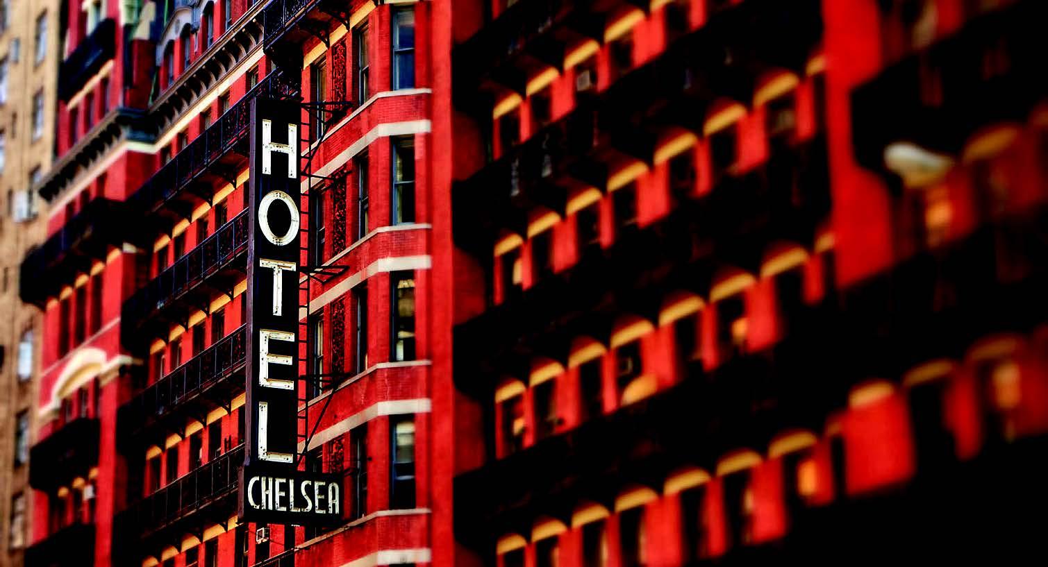 """Viešbutis """"Chelsea"""" – bitnikų kartos Niujorko namai"""