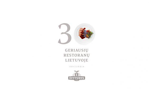 Šalies restoranų reitingas bus sudarytas ir šiemet – kas pateko?