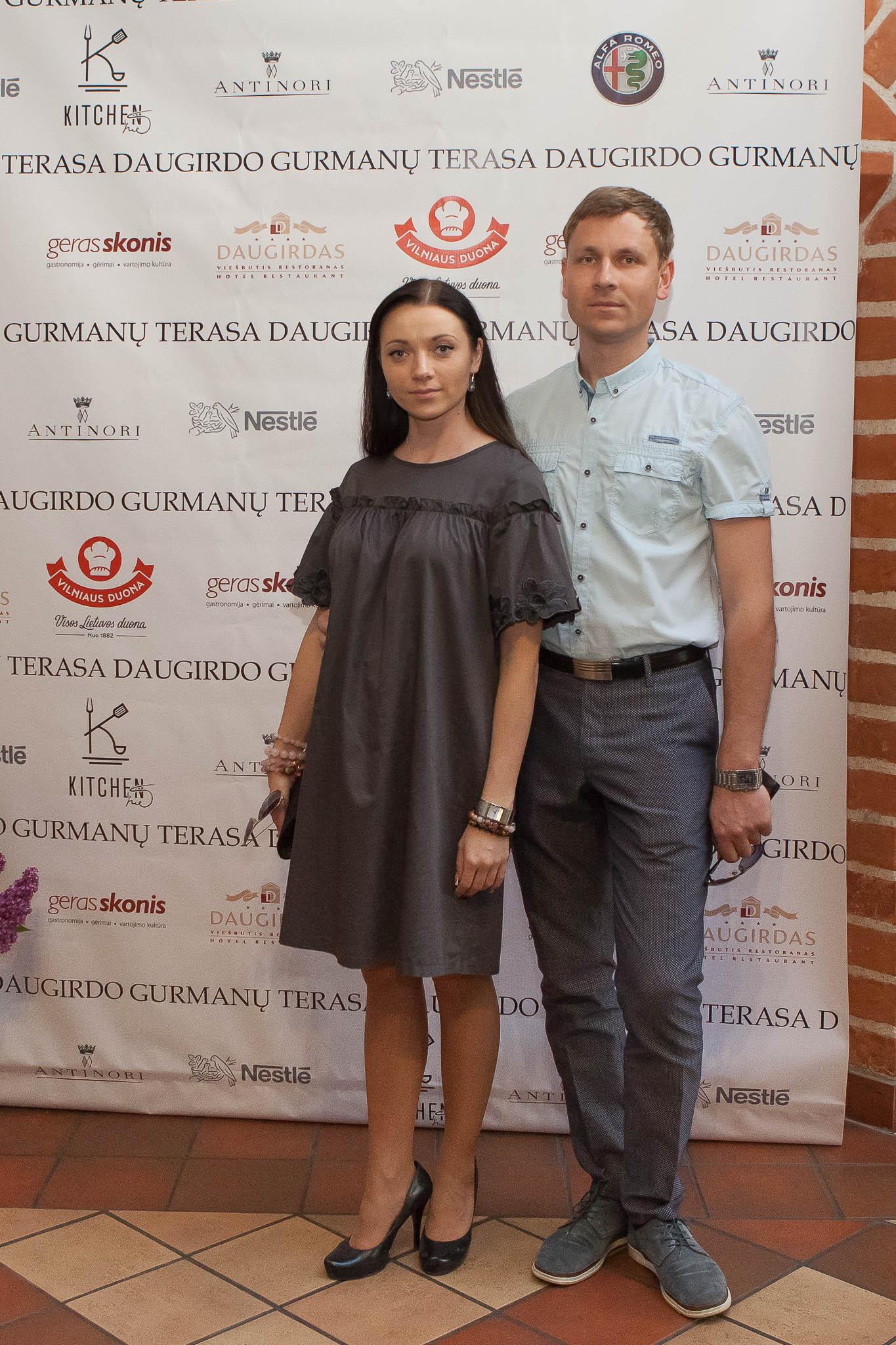 """Gero skonio"" klubo metu atidaryta ""Gurmanų terasa"" (foto: D. Gumbrevičius)"