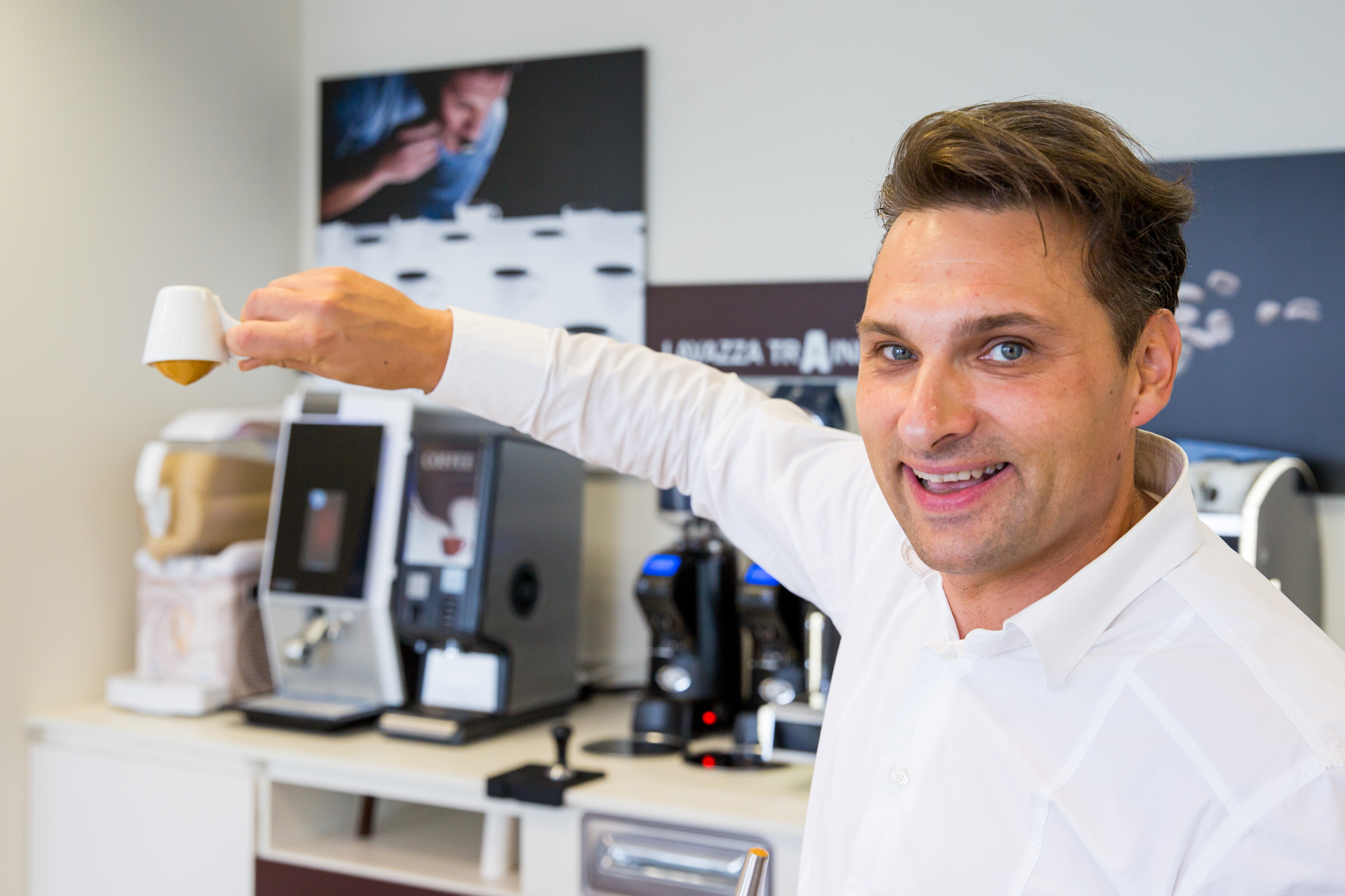 "UAB ""Amoka""- kavos technologas Darius Kodis"