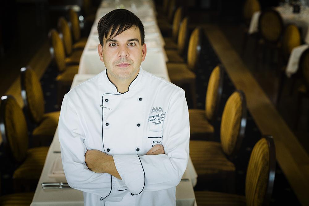 Restorano šefas Javier Lopez