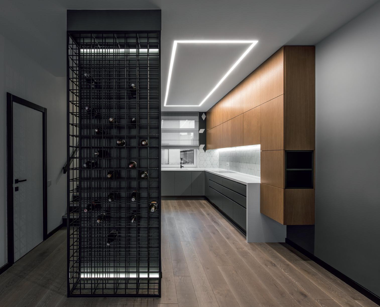 Įmontuotas modernus LED apšvietimas. Aut. Indrė Sunklodienė