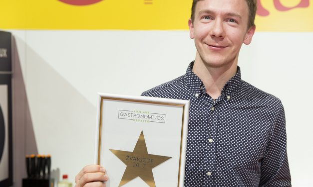 """Apdovanotas geriausias sostinės restoranas – """"Vilniaus gastronomijos savaitės"""" žvaigždė"""