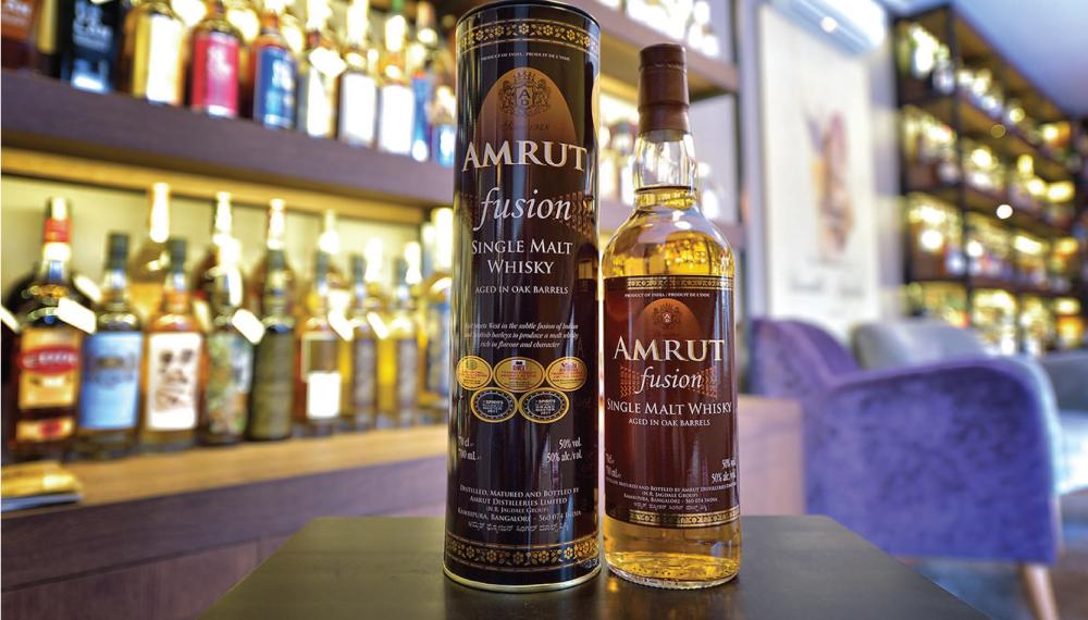 Vienas labiausiai nusisekusių indiškų viskių pasaulyje Amrut Fusion