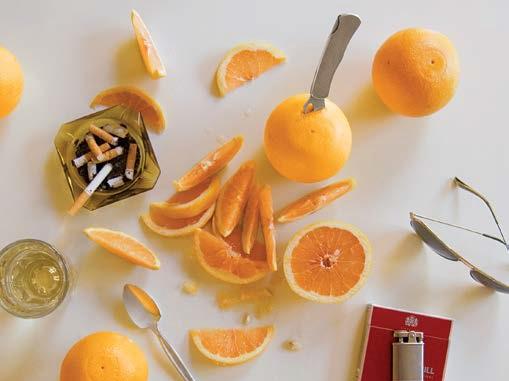 Alkoholis, apelsinas ir cigaretės. Pusryčiai iš Hunter S. Thompson Baimės ir neapykantos Las Vegase
