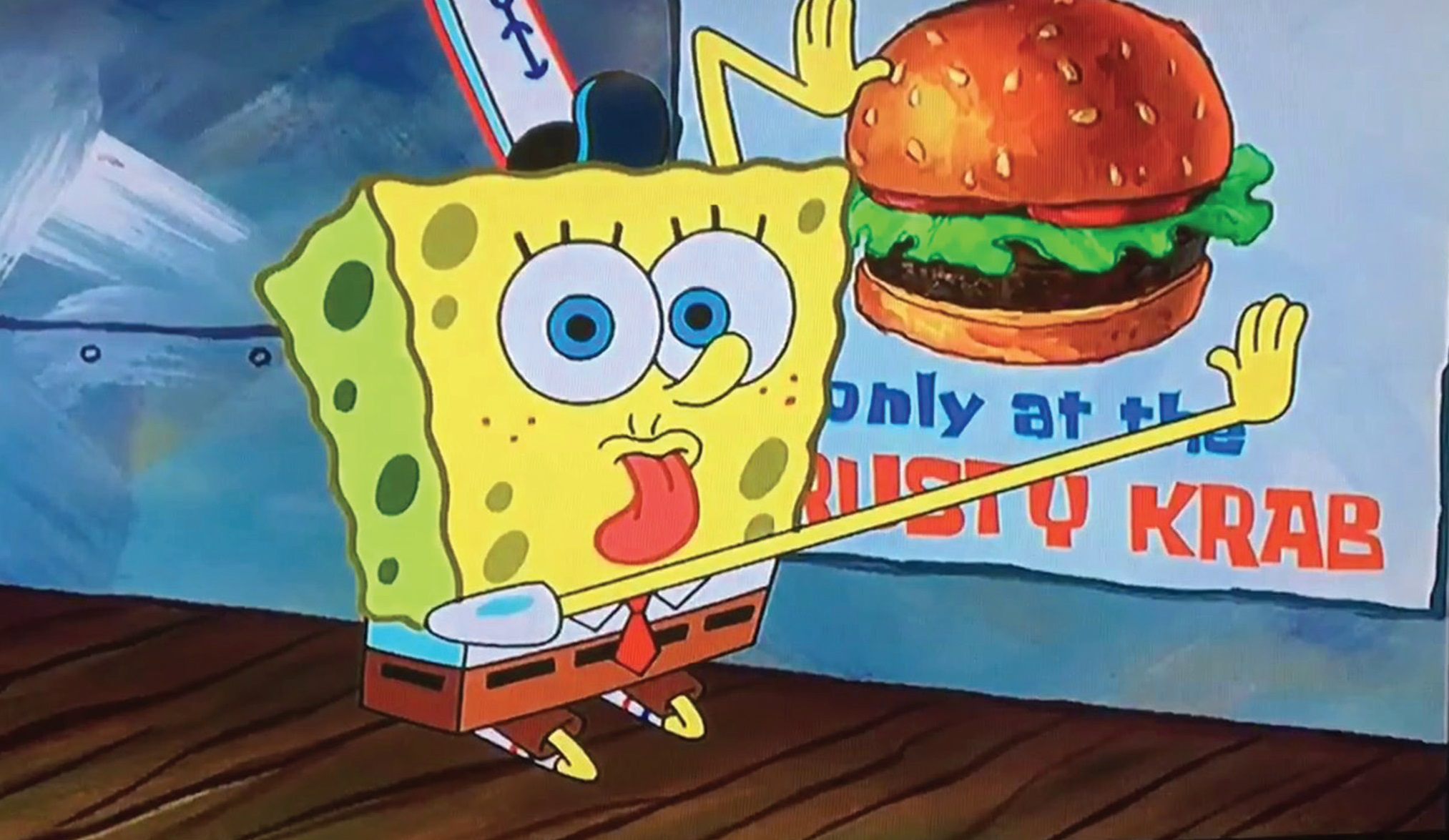 Krabby Patty mėsainis