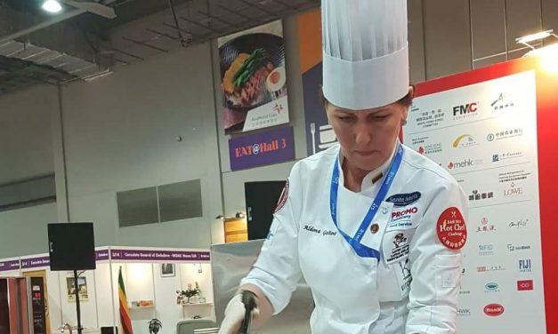 Lietuvos virtuvės meistrės tarptautinėse varžybose Honkonge iškovojo bronzą