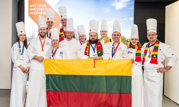 Lietuvos komanda karštosios virtuvės rungtyje įvertinta bronza