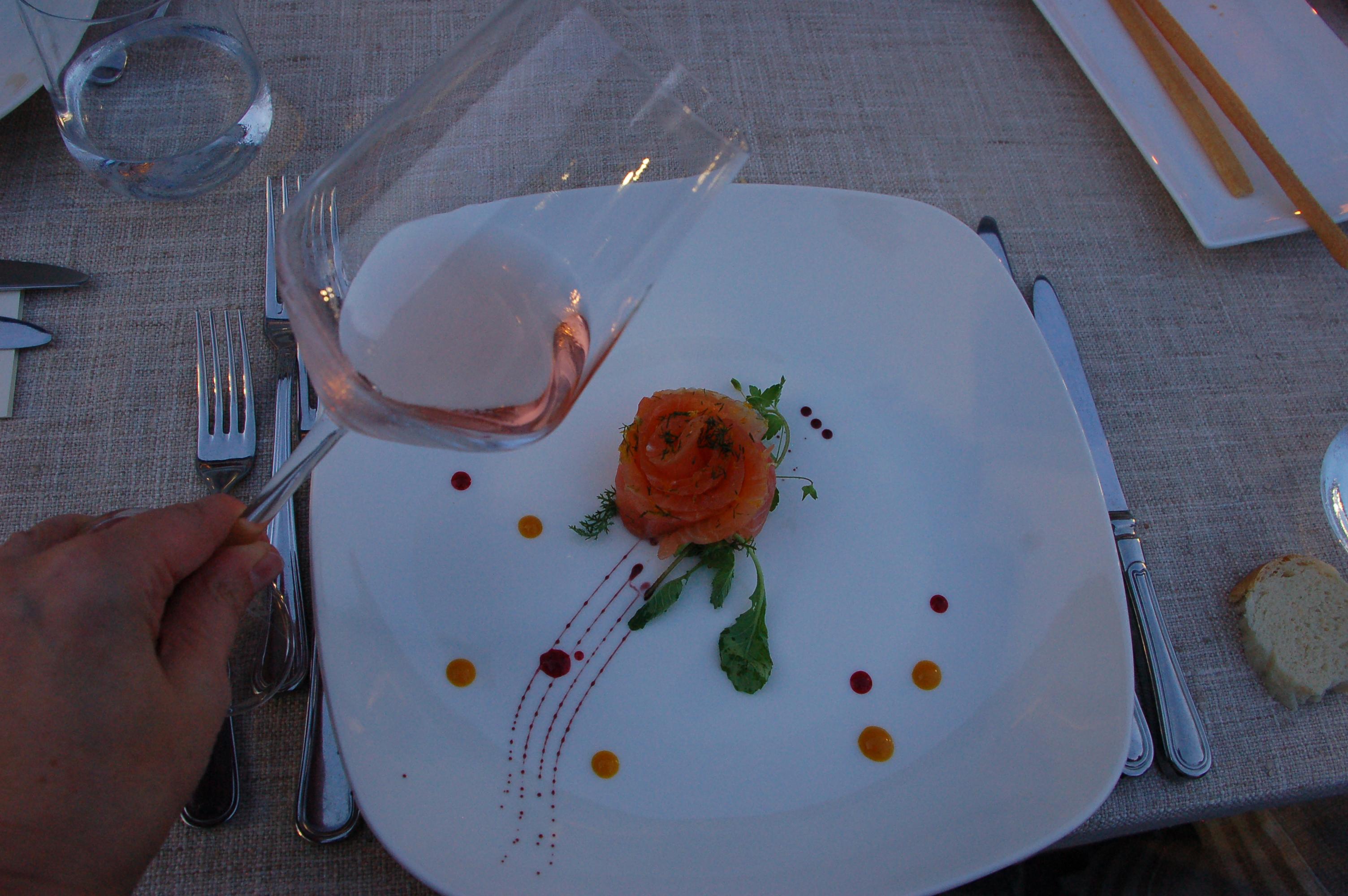 Acqui docg rožinis su lašiša