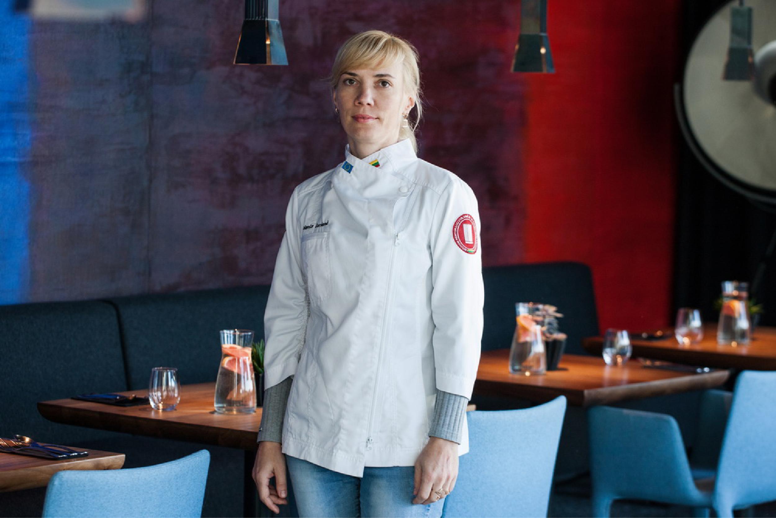 Virtuvės šefė Jolanta Gervienė