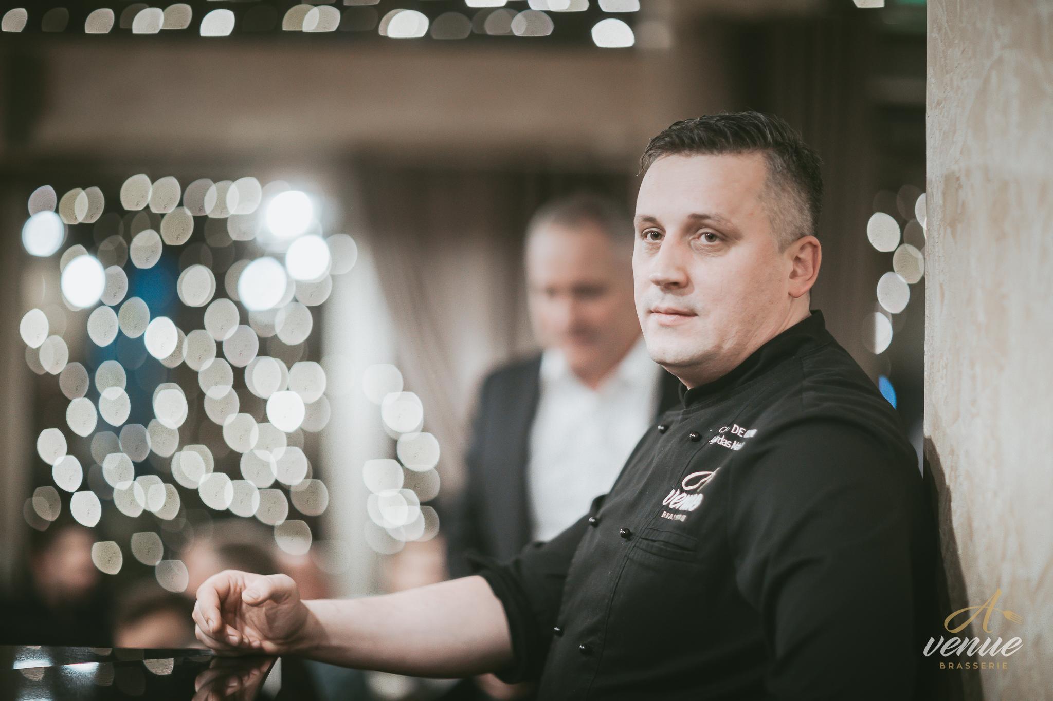 Virtuvės šefas Algirdas Matačiūnas