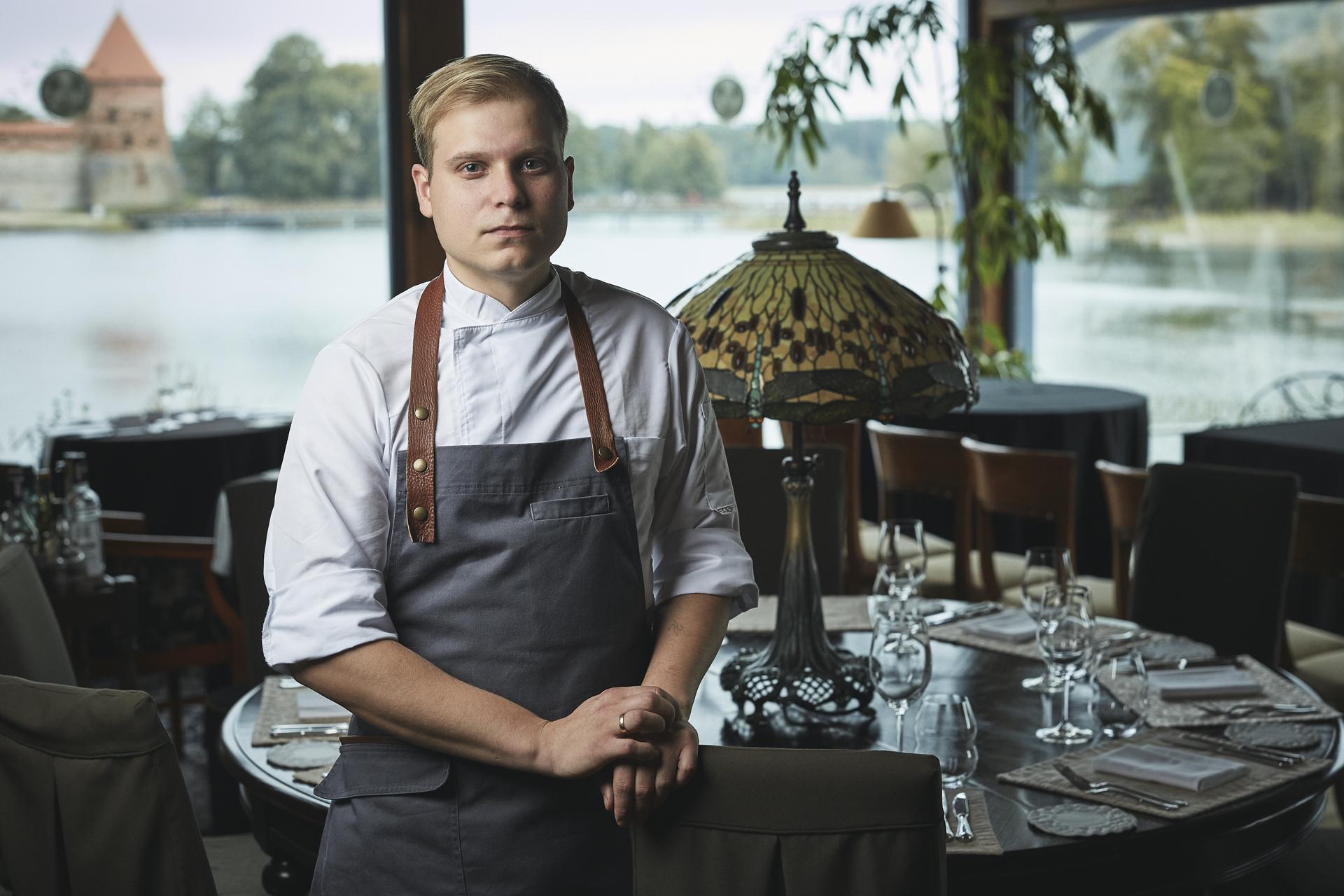 Virtuvės šefas Artūras Naujokas