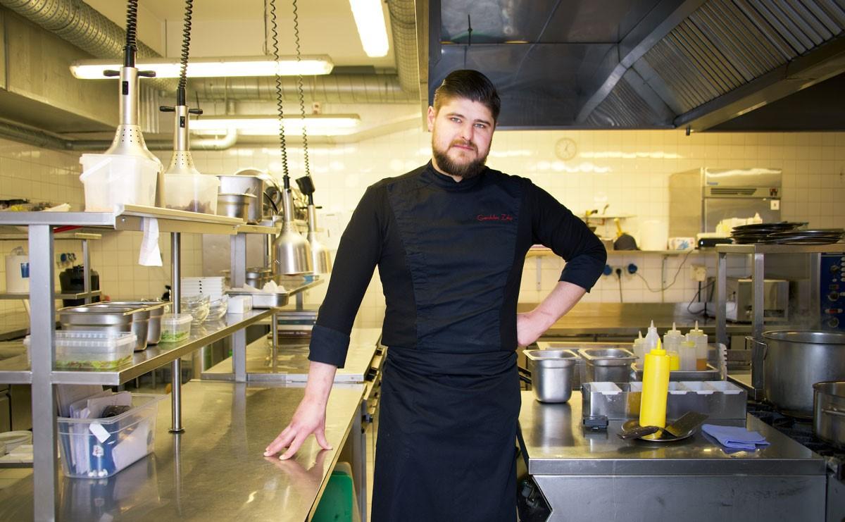Virtuvės šefas Gerdvilas Žalys