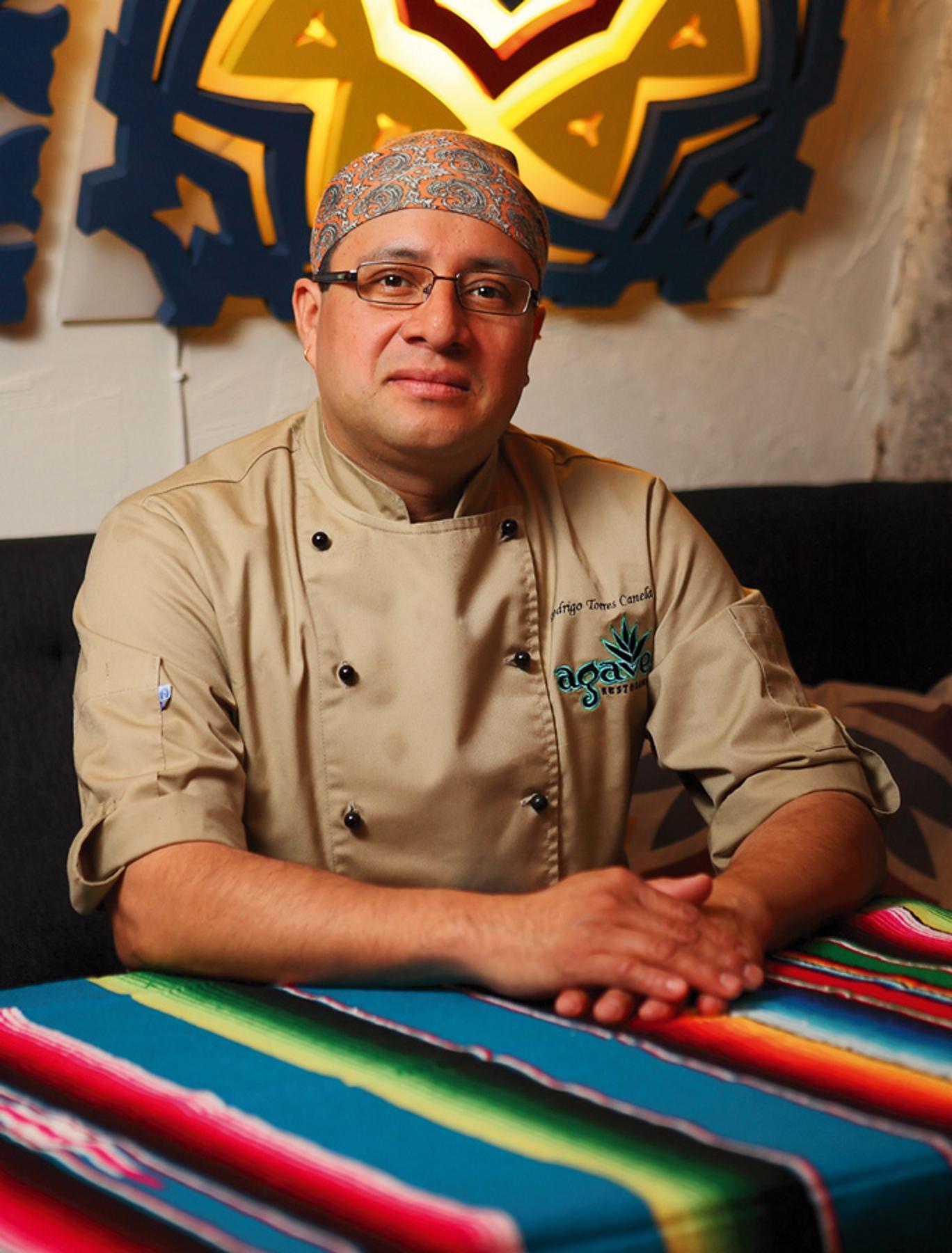 Virtuvės šefas Rodrigo Torres Canela