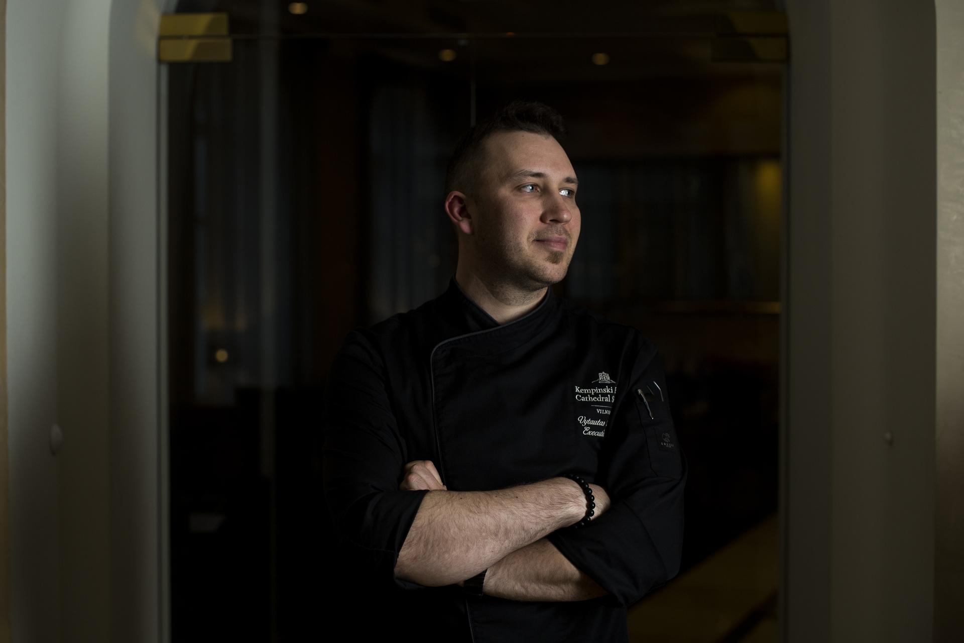 Virtuvės šefas Vytautas Alekna