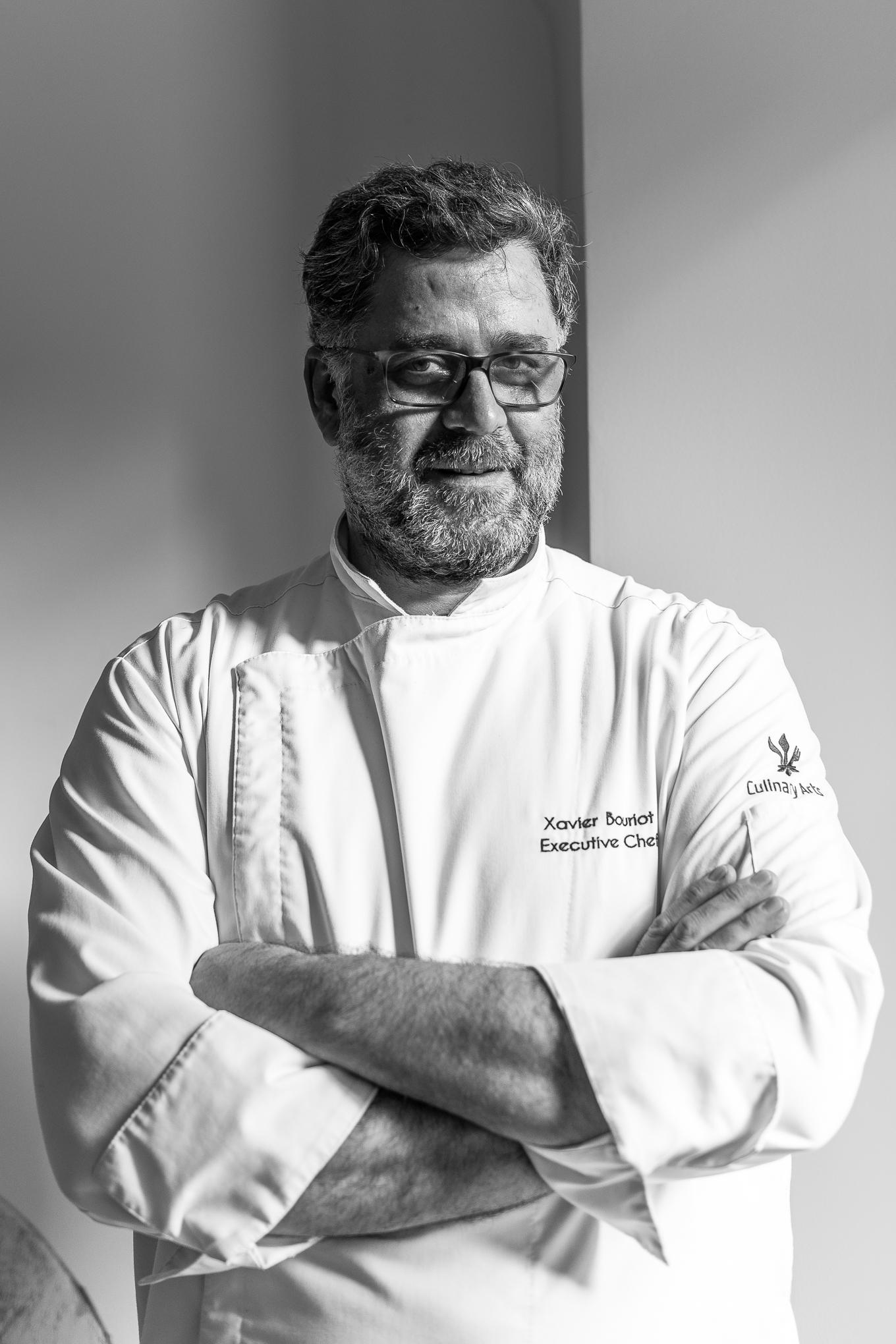 Virtuvės šefas Xavier Bouriot