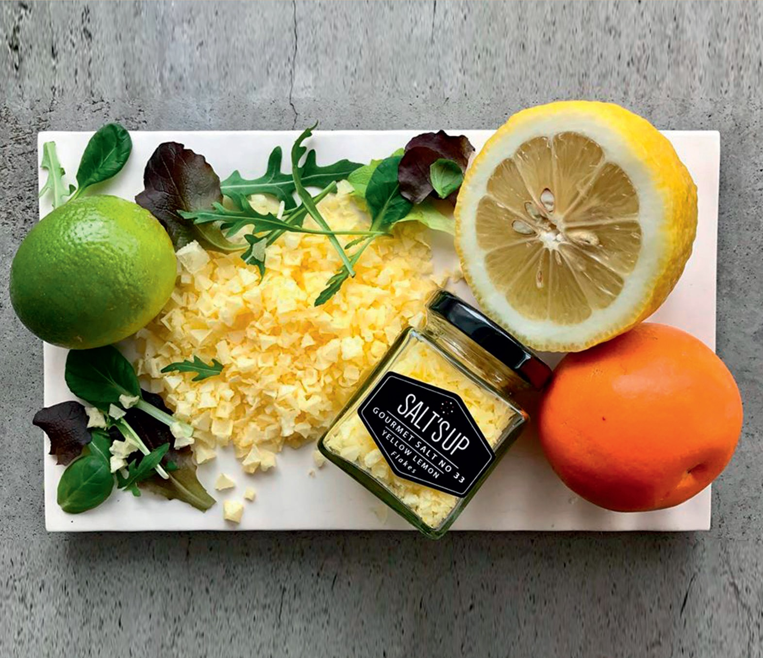 Yellow Lemon Flakes druska