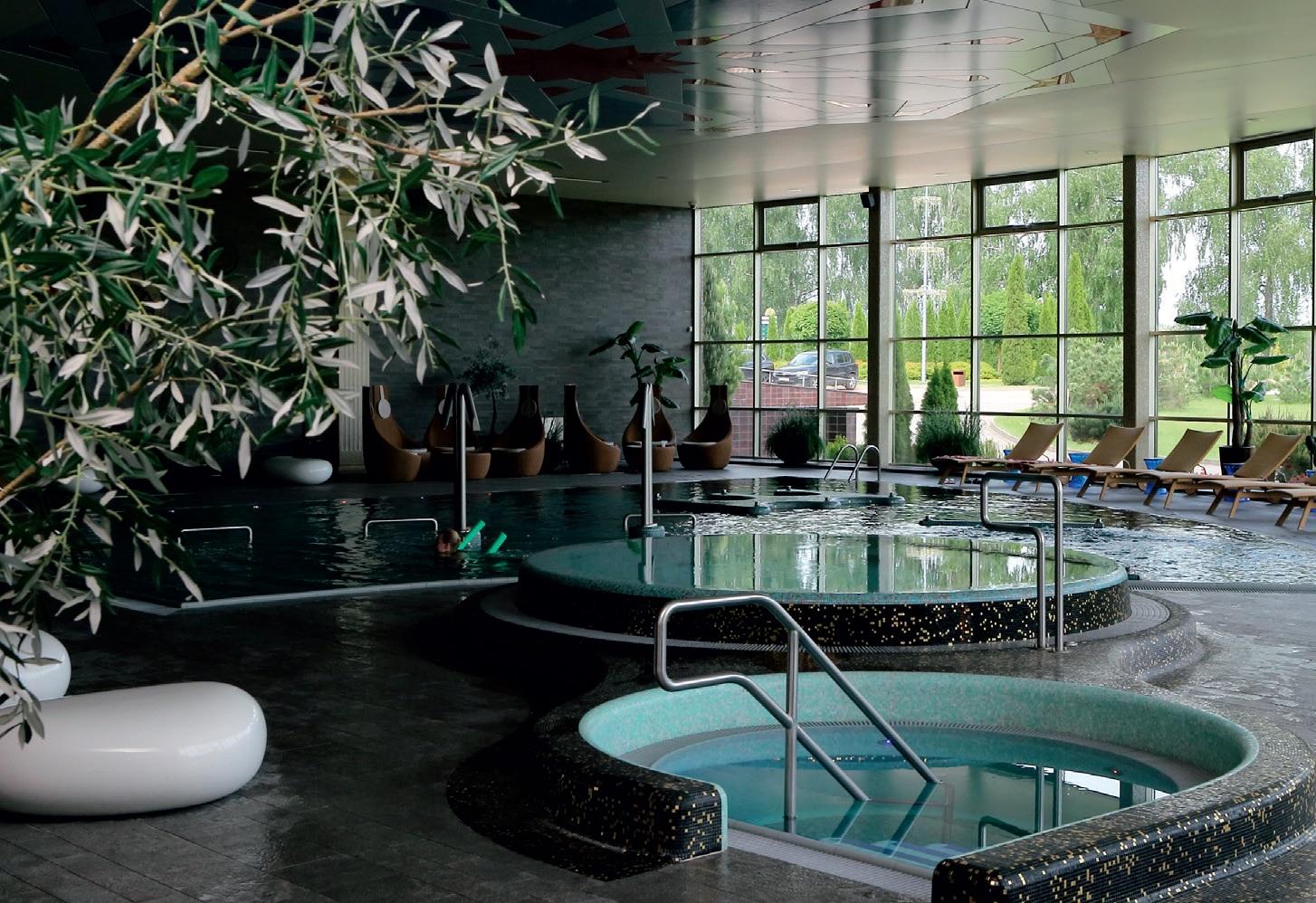 """""""Harmony Park"""" SPA baseinų ir pirčių zona – tikras rojus besiilsintiesiems bei vandens pramogų mėgėjams"""