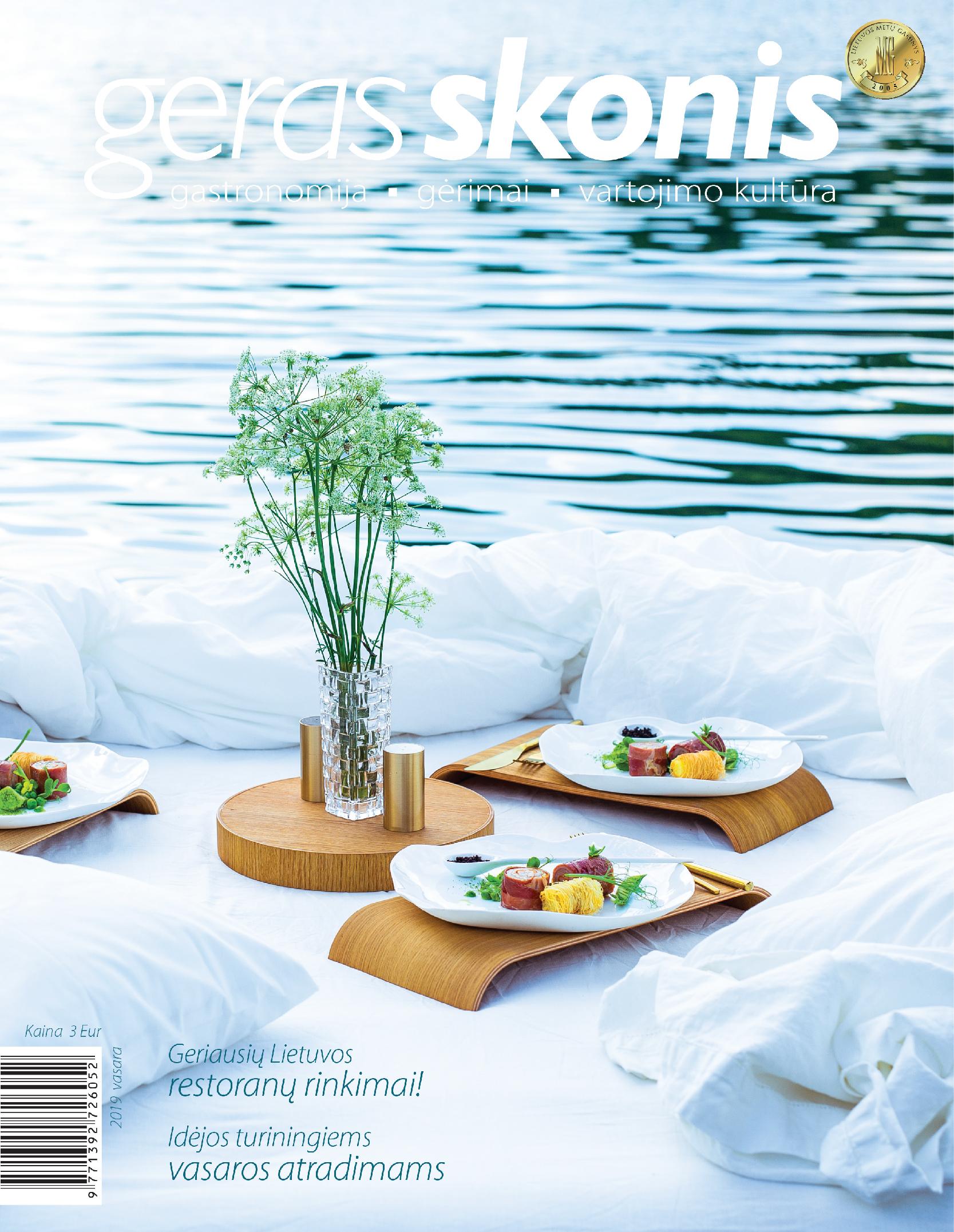 Geras skonis žurnalas