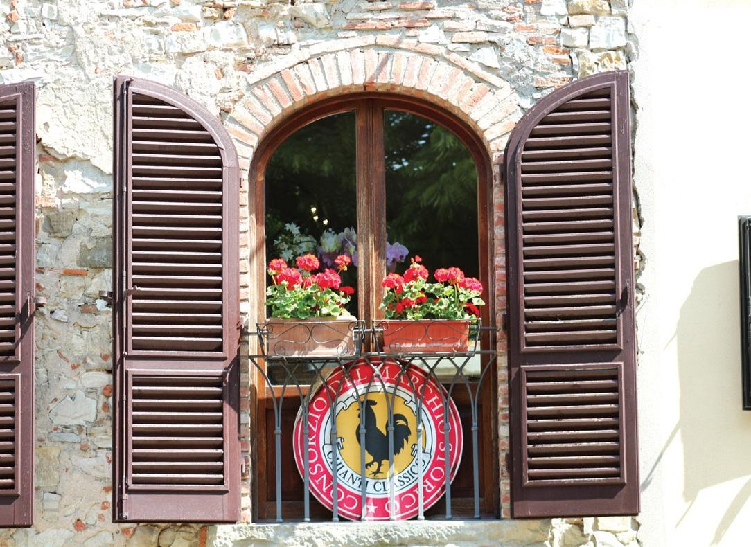 Kjančio (Chianti) simboliką galima išvysti netikėčiausiose vietose