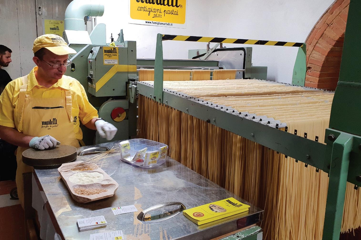 Per šimtmetį visiškai nepasikeitė Martelli šeimos makaronų gamyba