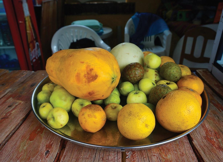 Peru gali didžiuotis šviežių Kasam žemę egzotiškų vaisių įvairove ištisus metus
