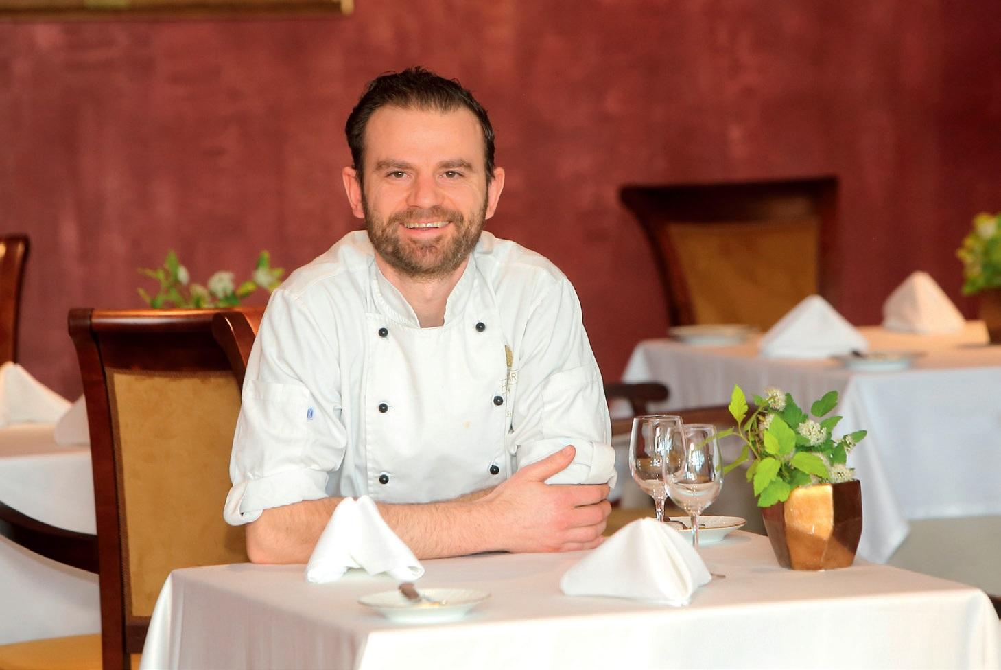 """Restorano """"Simboly"""" virtuvės šefas Rolandas Čižikas"""