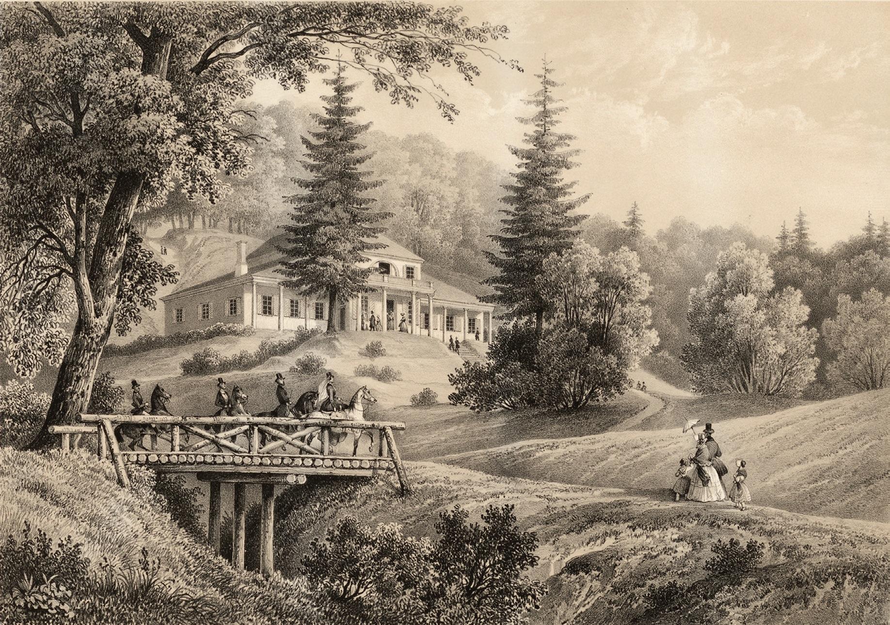 """Ribiškių dvare, netoli Vilniaus, XIX a. pr. buvo įkurta kavinė """"Kaimiška kava"""", kuri daugelį metų buvo miesto gyventojus labiausiai viliojanti vieta"""