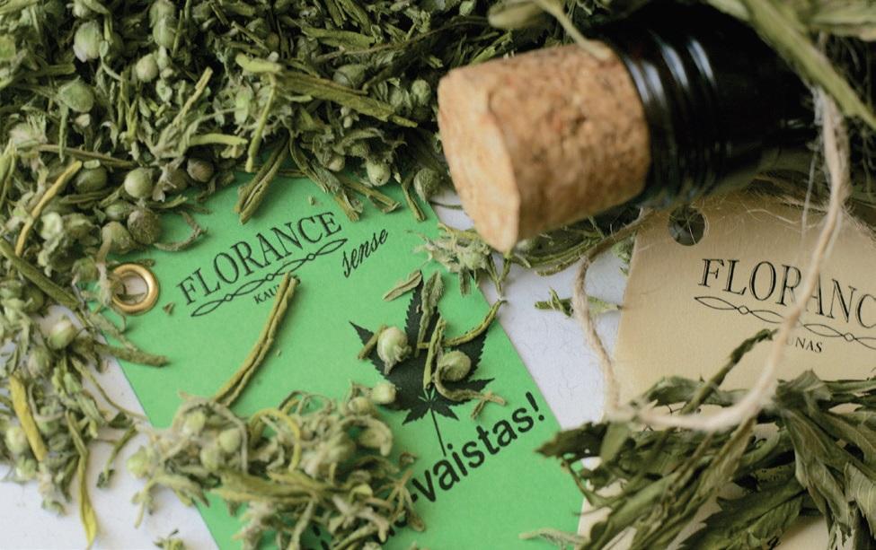 """Taip atrodė pirmieji Nerijaus Slesariūno sukurti """"Florance sense"""" produktai iš aliejinių kultūrų."""