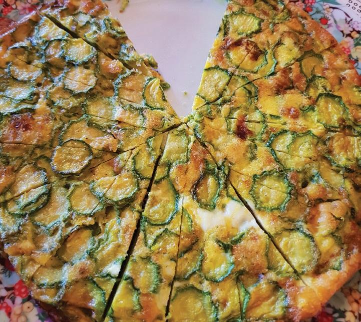 Tipiškas Toskanos užkandis – cukinijų pyragas