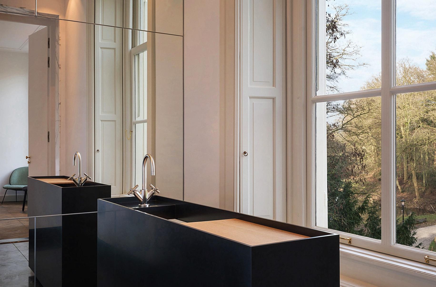 """Vonios kambariuose komforto ir elegancijos įspūdį sukuria """"Dornbracht"""" įranga"""