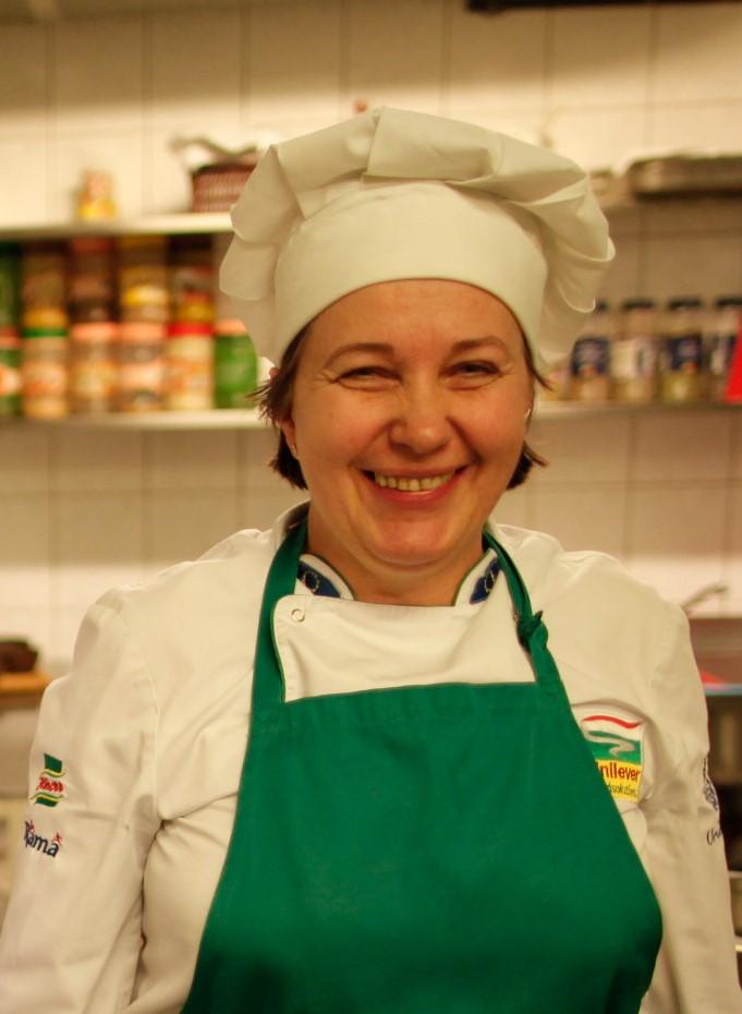 Virtuvės šefė Gražina Urbanavičienė