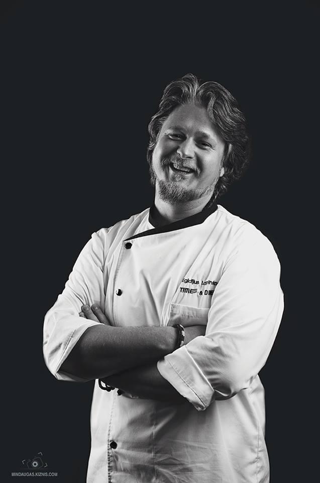 Virtuvės šefas Egidijus Lapinskas