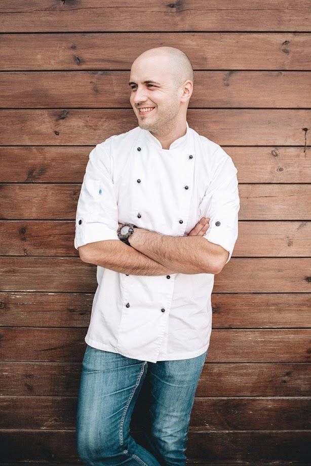 Virtuvės šefas Justinas Barzda
