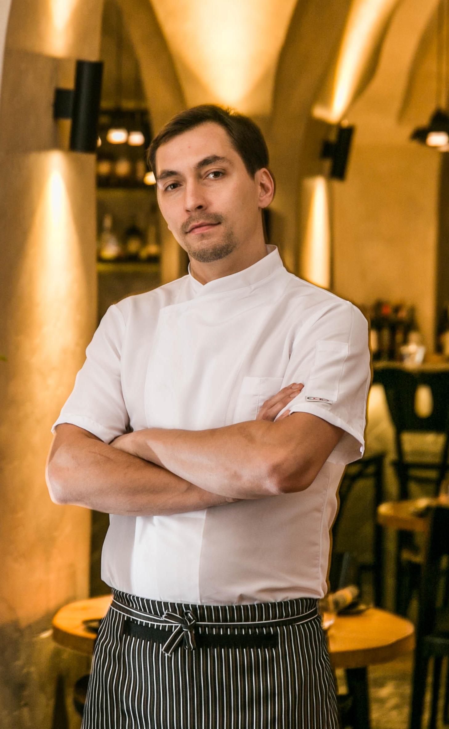 Virtuvės šefas Kipras Lamauskas