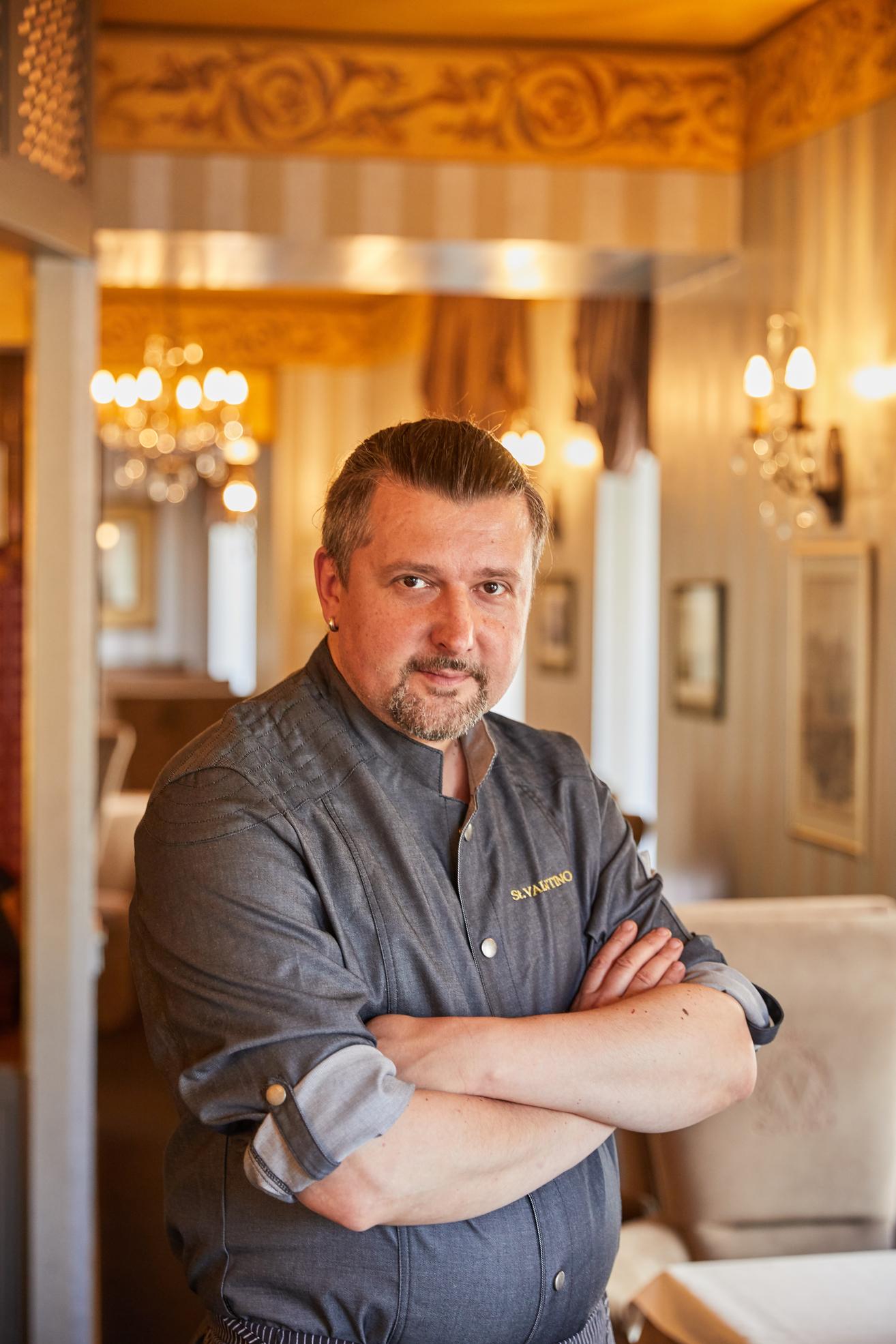 St. Valentino virtuvės šefas Linas Barysas