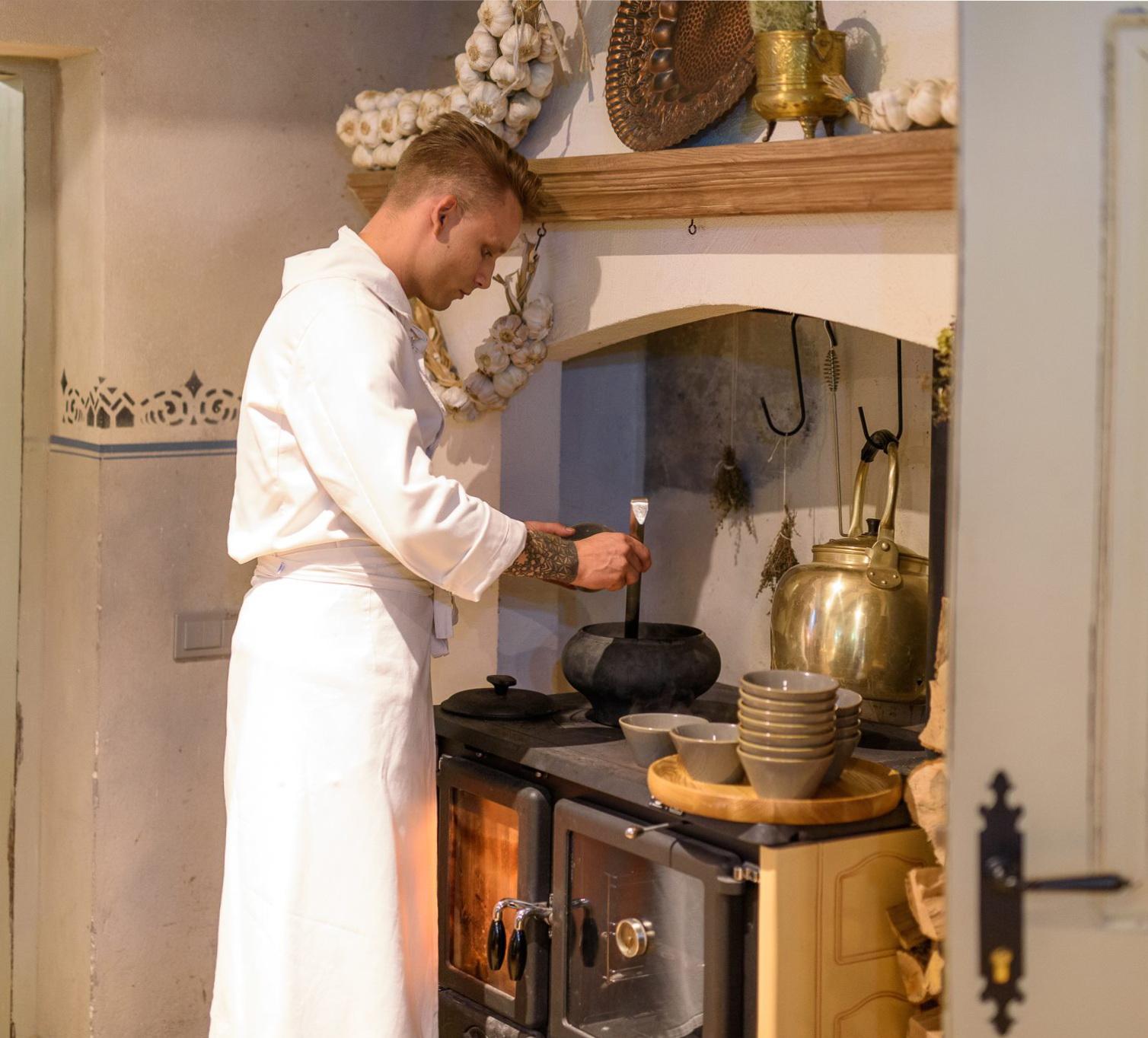 Virtuvės šefas Artūras Ragauskas