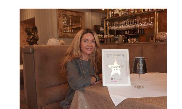 """Gastronomijos savaitės žvaigždė įteikta dvidešimtmetį švenčiančiam """"St. Valentino"""""""