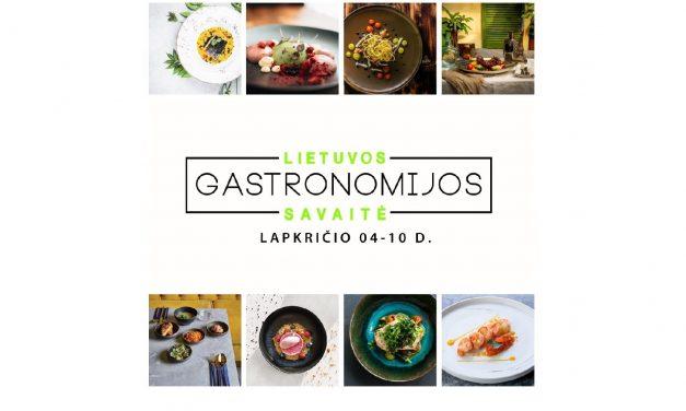 Prasideda Gastronomijos savaitės žvaigždės rinkimai!